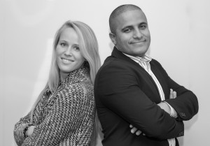 Justine and Ayoub, HR Recruiters for Syngenia